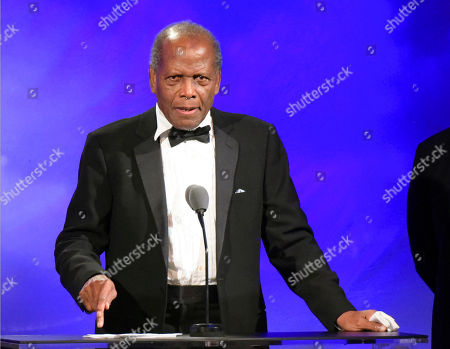 Sidney Poitier speaking at the 2016 Carousel Of Hope Ball in Beverly Hills, Calif. Turner Classic Movies is recognizing Poitier, Debbie Reynolds and Carrie Fisher at its eighth annual TCM Classic Film Festival in April. The Los Angeles event opens April 6 with a 50th anniversary screening of â?oeIn the Heat of the Night.â?? Festival organizers say Poitier will appear at the screening, along with producer Walter Mirisch, director Norman Jewison, actress Lee Grant and composer Quincy Jones