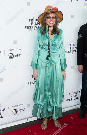 "Stock Image of Carly Simon attends the world premiere of ""Clive Davis: The Soundtrack of Our Lives"" at Radio City Music Hall, during the 2017 Tribeca Film Festival, in New York"