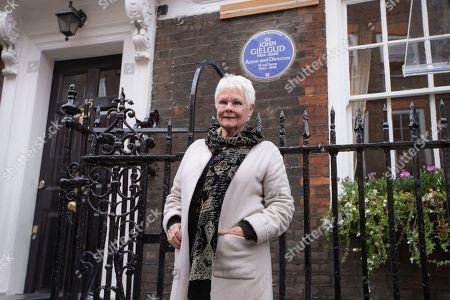 Editorial image of Britain Sir John Gielgud Blue Plaque, London, United Kingdom - 27 Apr 2017