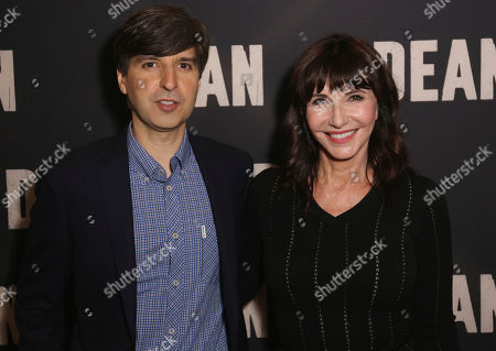 """Demetri Martin, left, and Mary Steenburgen arrive at the LA Special Screening of """"Dean"""" at the ArcLight Hollywood, in Los Angeles"""