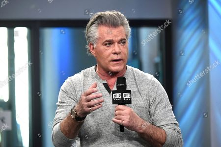 "Actor Ray Liotta participates in the BUILD Speaker Series to discuss the television series ""Shades of Blue"" at AOL Studios in New York. New Jersey's Hall of Fame honored its newest members including Camden County native Kelly Ripa, Liotta of Newark and Middletown resident Connie Chung on Sunday, May 7"