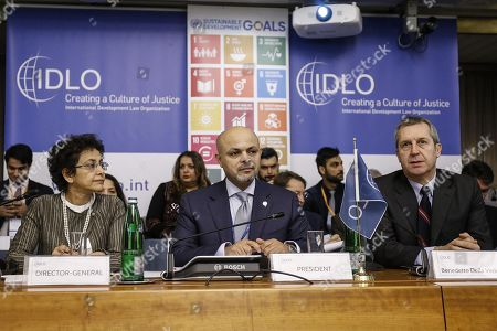 Editorial picture of Annual Assembly of Parties of IDLO, Rome, Italy - 28 Nov 2017