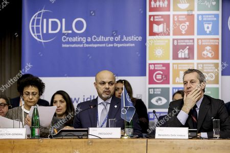Editorial photo of Annual Assembly of Parties of IDLO, Rome, Italy - 28 Nov 2017