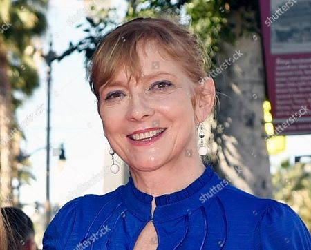 Glenne Headly attends an event honoring fellow actor Ed Harris with a star on the Hollywood Walk Of Fame in Los Angeles. Headly, an early member of the renowned Steppenwolf Theatre Company who went on to star in films and on TV, died Thursday night, according to her agent. She was 62. No cause of death or location was immediately available