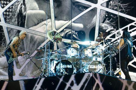 Editorial picture of Scorpions in concert, Gothenburg, Sweden - 24 Nov 2017