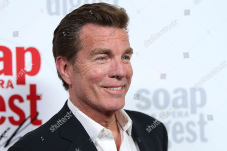 """Peter Bergman actor on """"The Young and the Restless"""" arrives at the 40th Anniversary of Soap Opera Digest at The Argyle Hollywood in Los Angeles. The drama will keep churning on daytime TV's """"The Young and the Restless"""" through at least 2020. CBS said Tuesday, June 20, 2017, it has renewed the soap opera for three more seasons"""