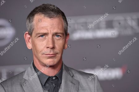 """Ben Mendelsohn arrives at the world premiere of """"Rogue One: A Star Wars Story"""" at the Pantages Theatre, in Los Angeles. Court records show Mendelsohn's wife has filed for divorce from the """"Rogue One"""" star. Emma Forrest filed for divorce in Los Angeles Superior Court on Friday, Dec. 29 citing irreconcilable differences as the reason for the end of their four year marriage. Forrest is seeking physical custody of their 3-year-old daughter"""
