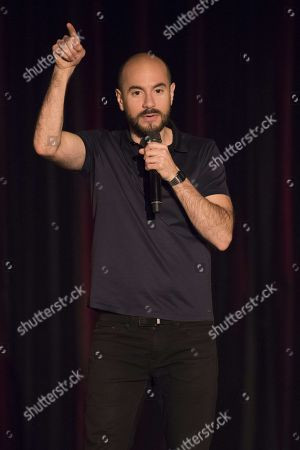 Editorial picture of Comedy at the Palais de la Mediterranee, Nice, France - 25 Nov 2017