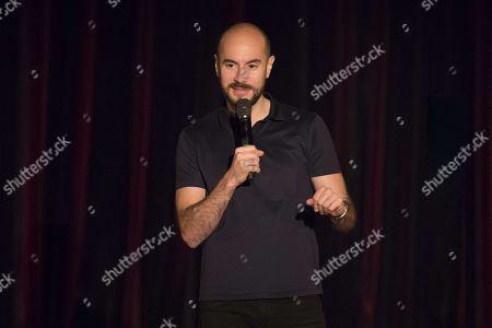 Editorial image of Comedy at the Palais de la Mediterranee, Nice, France - 25 Nov 2017