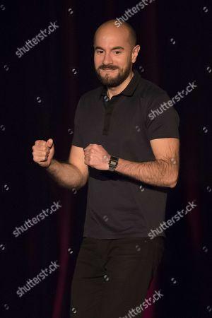 Kyan Khojandi during his show, 'Pulsions'