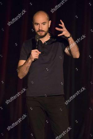Editorial photo of Comedy at the Palais de la Mediterranee, Nice, France - 25 Nov 2017