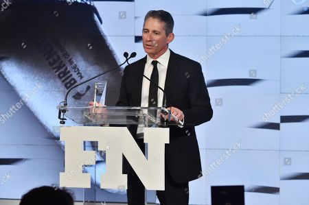 David Kahan attends the Footwear News Achievement Awards at the IAC on November 28, 2017 in New York