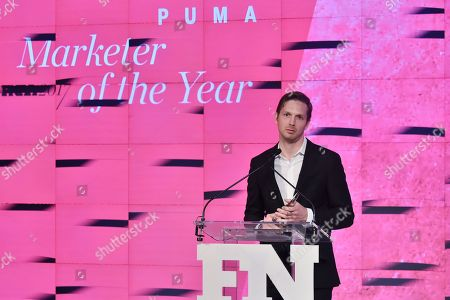 Stock Image of Adam Petrick attends the Footwear News Achievement Awards at the IAC on November 28, 2017 in New York