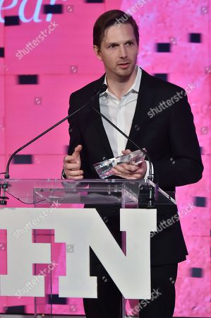 Adam Petrick attends the Footwear News Achievement Awards at the IAC on November 28, 2017 in New York