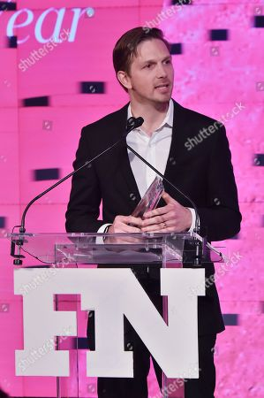 Stock Photo of Adam Petrick attends the Footwear News Achievement Awards at the IAC on November 28, 2017 in New York