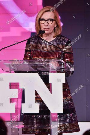 Stock Picture of Liz Rodbell attends the Footwear News Achievement Awards at the IAC on November 28, 2017 in New York