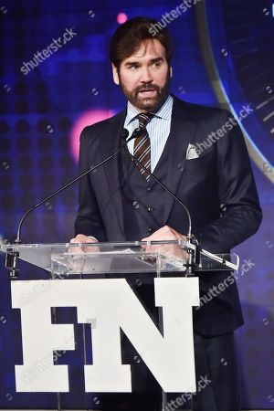 Michael Atmore attends the Footwear News Achievement Awards at the IAC on November 28, 2017 in New York