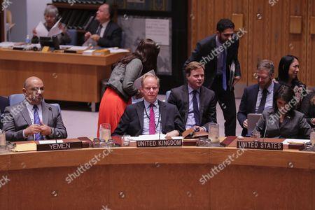 British UN Ambassador Matthew Rycroft