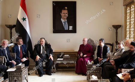 Stock Photo of Hammoudeh Sabbagh, Lord Carey and Caroline Cox