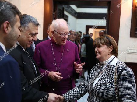 Editorial picture of Delegation from the British House of Lords and Church of England visit Damascus, Syria - 28 Nov 2017