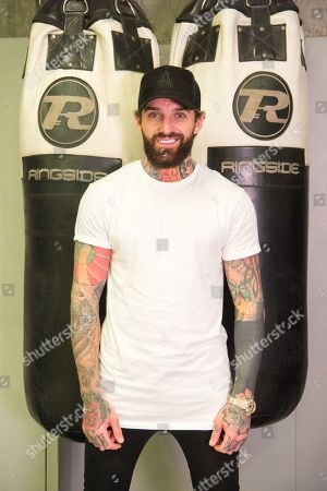 Editorial image of Aaron Chalmers MMA fight photocall, London, UK - 28 Nov 2017