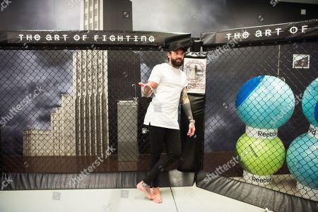 Editorial photo of Aaron Chalmers MMA fight photocall, London, UK - 28 Nov 2017