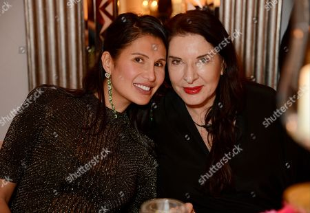Goga Ashkenazi and Marina Abramovic