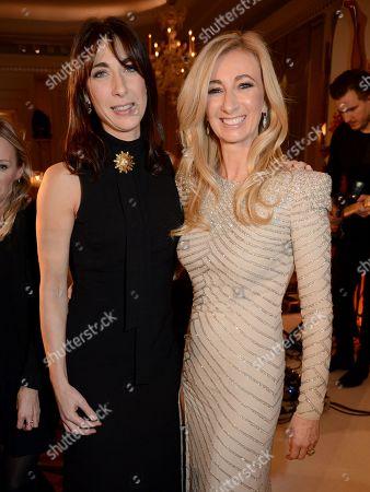 Samantha Cameron and Jenny Halpern Prince