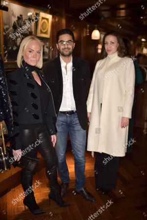 Stock Picture of Kathrine Fredriksen, Waleed Saigol and Ina Dimitrova