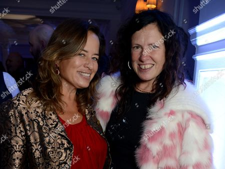 Jade Jagger and Katie Grand