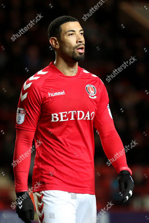 Leon Best of Charlton Athletic during Charlton Athletic vs Peterborough United, Sky Bet EFL League 1 Football at The Valley on 28th November 2017
