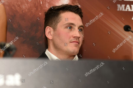 Shane McGuigan during a Press Conference at Savoy Hotel on 28th November 2017