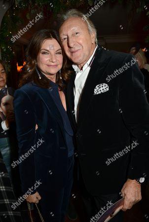 Natalie Massenet and Harold Tillman