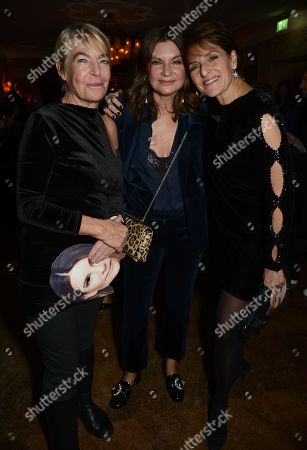 Natalie Massenet (middle) with friends