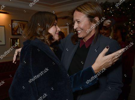 Natalie Massenet and Caroline Rush