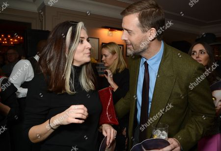 Patrick Grant (R) with guest