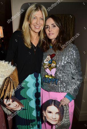 Tania Fares (R) with Diane Kordas
