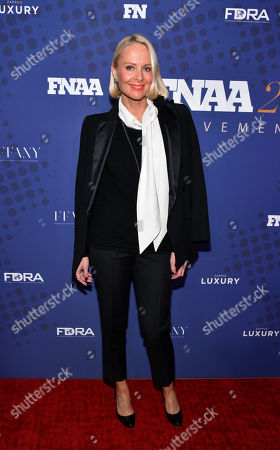 Editorial image of 31st Annual Footwear News Achievement Awards, Arrivals, New York, USA - 28 Nov 2017