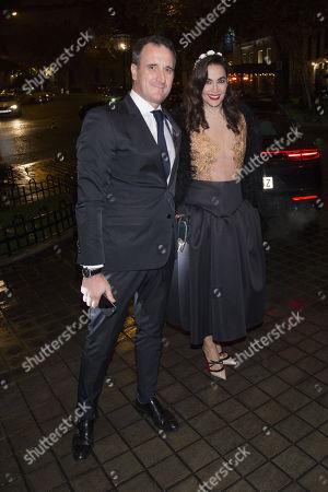 Cristina Rodriguez and partner