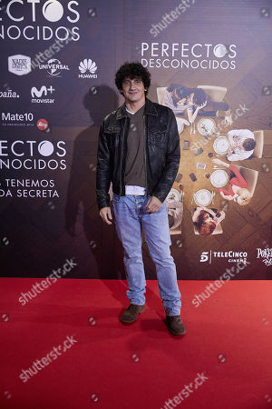 Editorial photo of 'Perfectos Desconocidos' film premiere, Arrivals, Madrid, Spain - 28 Nov 2017