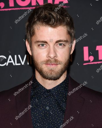 """Actor Luke Mitchell attends the premiere of """"I, Tonya"""" at Village East Cinema, in New York"""