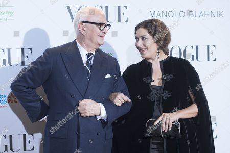 Manolo Blahnik and Estrella Morente