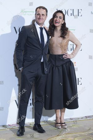 Stock Picture of Cristina Rodriguez and partner