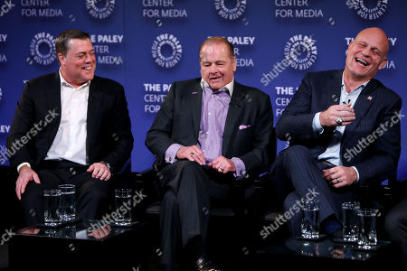 Pat LaFontaine, Rod Gilbert, Ken Daneyko