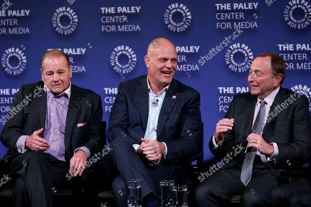 Rod Gilbert, Ken Daneyko, Gary Bettman