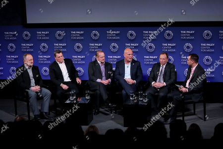 Editorial image of PALEYLIVE NY: The Paley Center Celebrates 100 Years of the NHL: New York Premiere & Discussion, New York, USA - 28 Nov 2017
