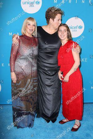 Carol J. Hamilton, Caryl M. Stern (Pres, CEO; UNICEF USA) and Lucy Meyer
