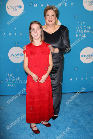 Lucy Meyer and Caryl M. Stern (Pres, CEO; UNICEF USA)