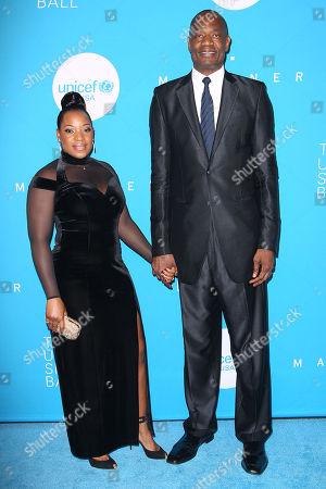 Rose Mutombo and Dikembe Mutombo