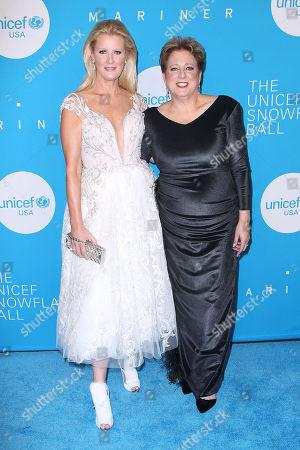 Sandra Lee and Caryl M. Stern (Pres, CEO; UNICEF USA)